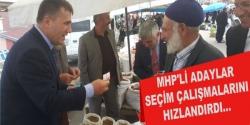 MHP'li Adaylar seçim çalışmalarını hızlandırdı
