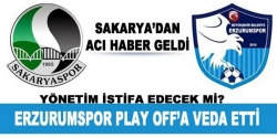 Sakaryaspor - BB Erzurumspor maç sona erdi