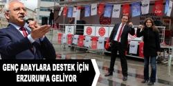 Kılıçdaroğlu Erzurum'a geliyor