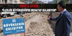 MHP'li Aydın ve Kaya, ilçe ziyaretlerinde