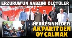 Erzurum'un nabzını ölçtüler