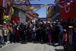 Erzurum sokaklar renkleniyor