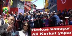 Erzurum'un en renkli sokağı açıldı