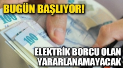 Elektrik borcu olan çiftçiye destek