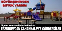 Erzurum'dan Çanakkale'ye oyun grubu!