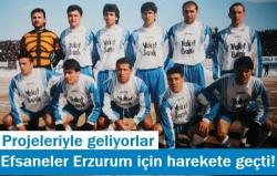 Efsaneler Erzurum için harekete geçti!