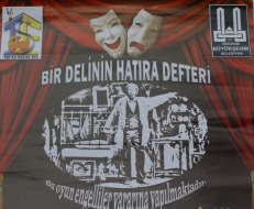 Erzurum Devlet Tiyatrolarında anlamlı oyun