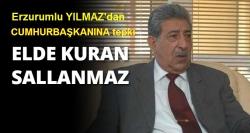 Erdoğan'a Kuran tepkisi!
