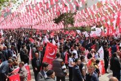 Milli İttifak Erzurum'da coştu!