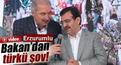 'Eyvallah Şahım' türküsünü söyledi