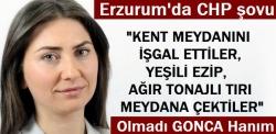 Erzurum'da CHP Şovu!