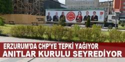 Erzurum'da CHP Şovuna tepki yağıyor!