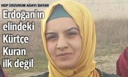 Erdoğan'daki Kuran ilk değil