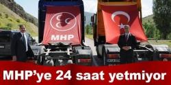 MHP'liler Erzurum'da hız kesmiyor