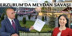 Erzurum'da meydan tartışması sürüyor!