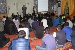 Erzurum'da işaret diliyle vaaz
