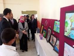 Çat'ta Görsel Sanatlar Sergisi