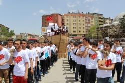 Erzurum'da fetih'i kutladılar!