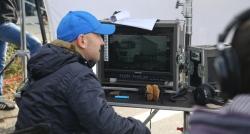 Irmak, kamyoncular için kamera arkasında