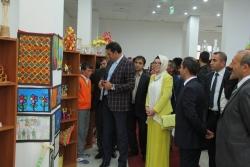 Narman YİBO'da Görsel Sanatlar Sergisi