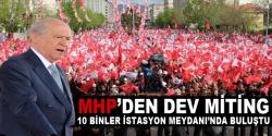 Bahçeli Erzurum'da konuştu