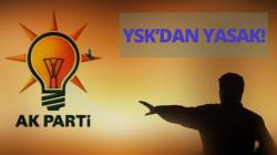 YSK'dan AKParti'ye bir şok daha