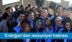 Erzurum'da mezuniyet hatırası