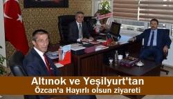 Altınok, Özcan'ı unutmadı!