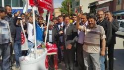 MHP adayları Çat ve Aşkale'de