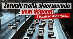 Zorunlu trafik sigortasına yeni düzenleme