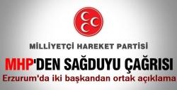 Erzurum'da sağduyu çağrısı