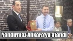 Yıldırmaz'a Ankara'da görev!