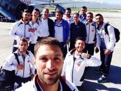 Avrupa yollarında selfie