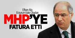Erzurum'daki olayları MHP'ye fatura etti!