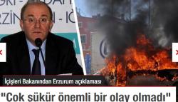 Öztürk'ten, Erzurum açıklaması!