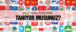 İşte Erzurum Milletvekili adayları!