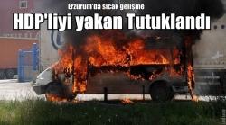 Erzurum saldırısında flaş gelişme!