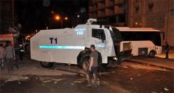 Muş'ta seçim sonrası olaylar çıktı