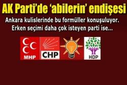 Ankara'daki koalisyon hesapları