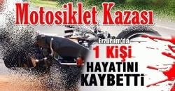 Erzurum'da 1 ölü, 1 yaralı