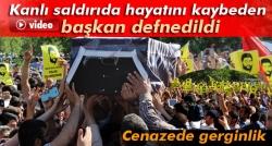 İhya-Der Başkanı'nın cenazesinde gerginlik!