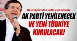 Davutoğlu'ndan kritik açıklama!