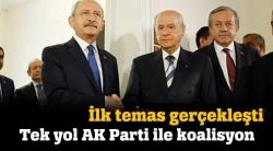Tüm koalisyonlar AK Parti'ye çıkıyor!