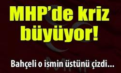 MHP'de kriz büyüyor