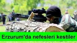 Erzurum'da jandarma nefes kesti!