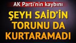 AK Partiye Doğu'da şok!