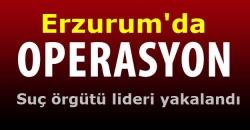 Erzurum Polisinden kaçamadı!