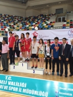 Erzurumlu sporcular madalya aldı