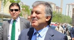 Gül; Ahmet Sever'e de aktarmıştım