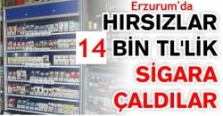 Erzurum'da 14 bin TL'lik soygun!